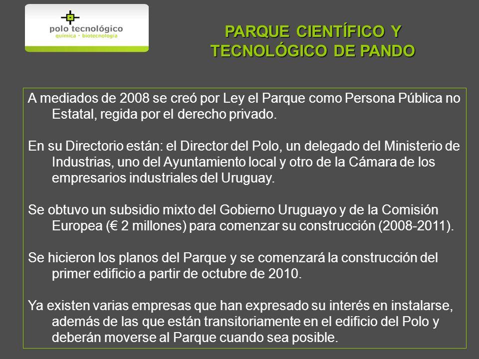 PARQUE CIENTÍFICO Y TECNOLÓGICO DE PANDO