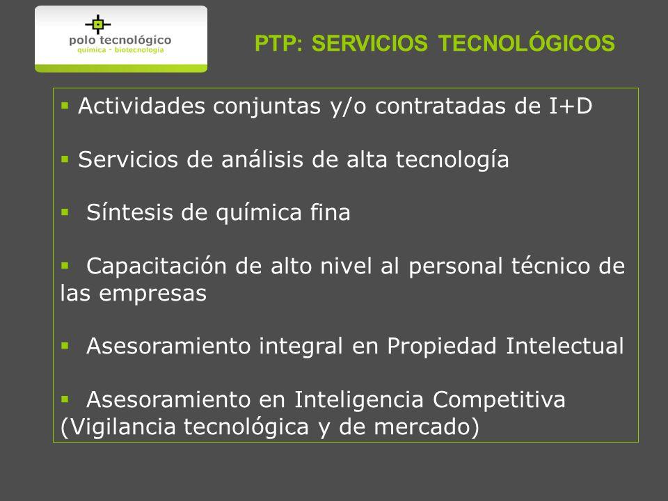PTP: SERVICIOS TECNOLÓGICOS