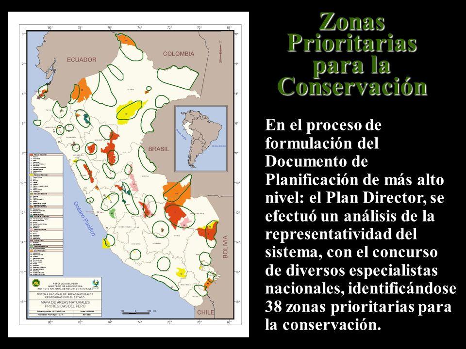 Zonas Prioritarias para la Conservación