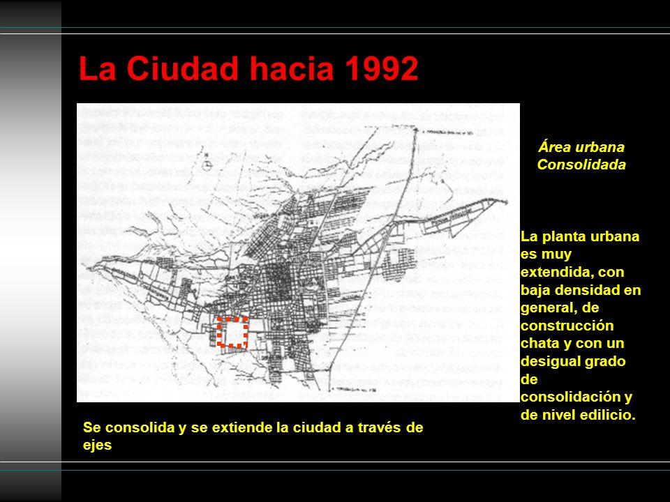 Área urbana Consolidada