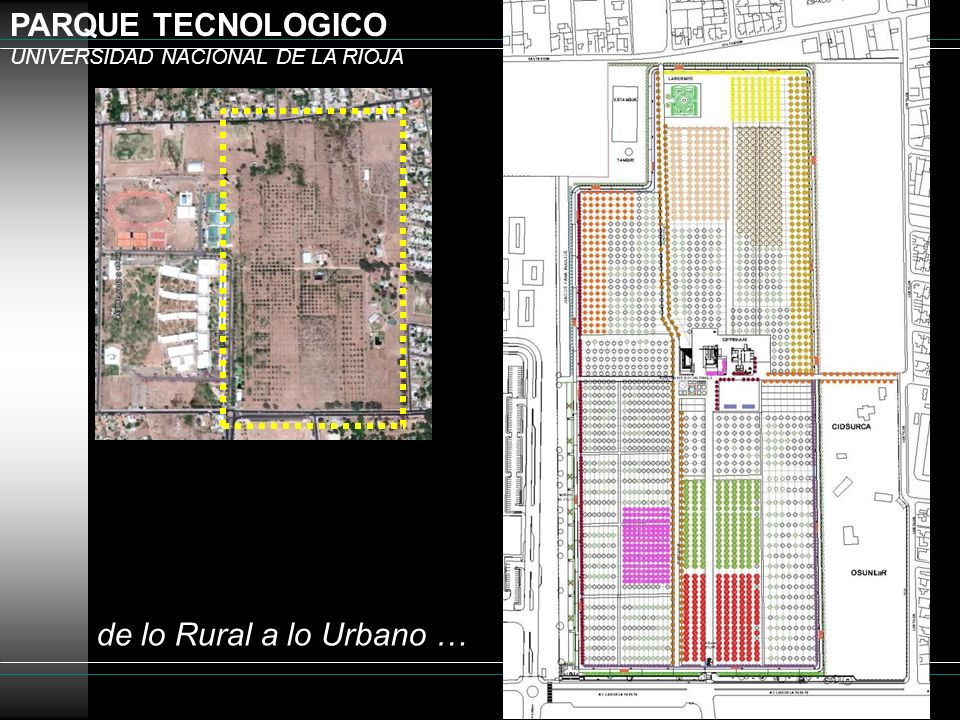 PARQUE TECNOLOGICO UNIVERSIDAD NACIONAL DE LA RIOJA