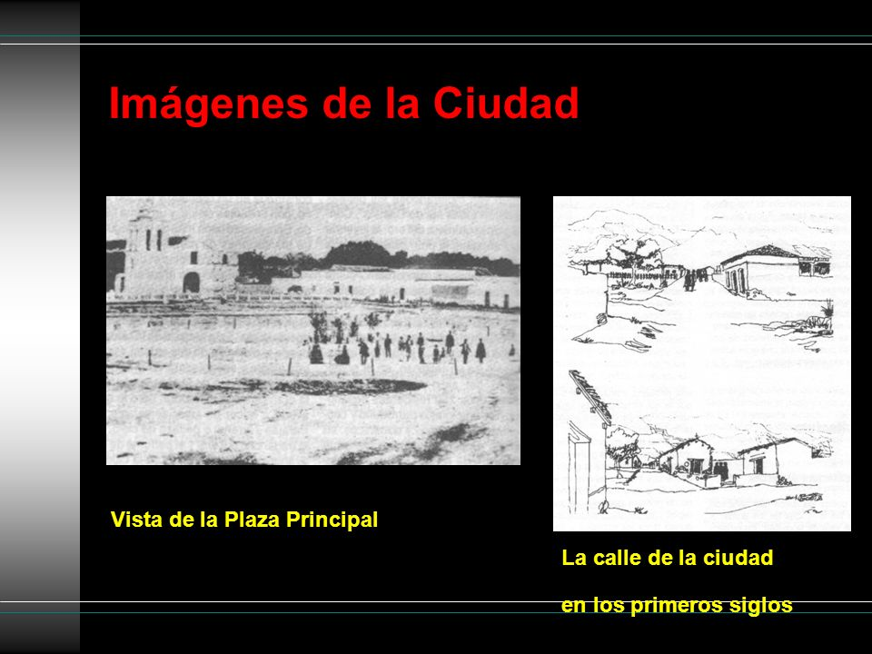 Imágenes de la Ciudad Vista de la Plaza Principal