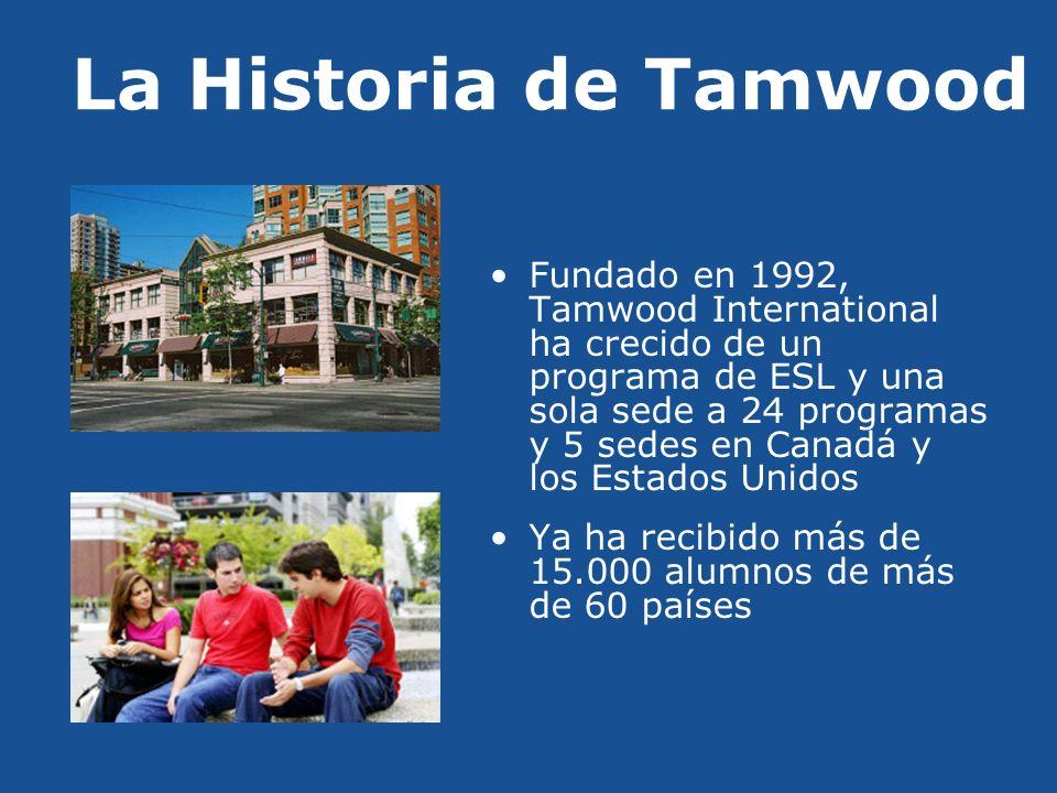 La Historia de Tamwood
