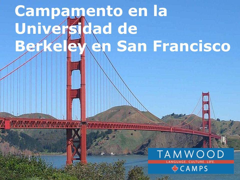 Campamento en la Universidad de Berkeley en San Francisco