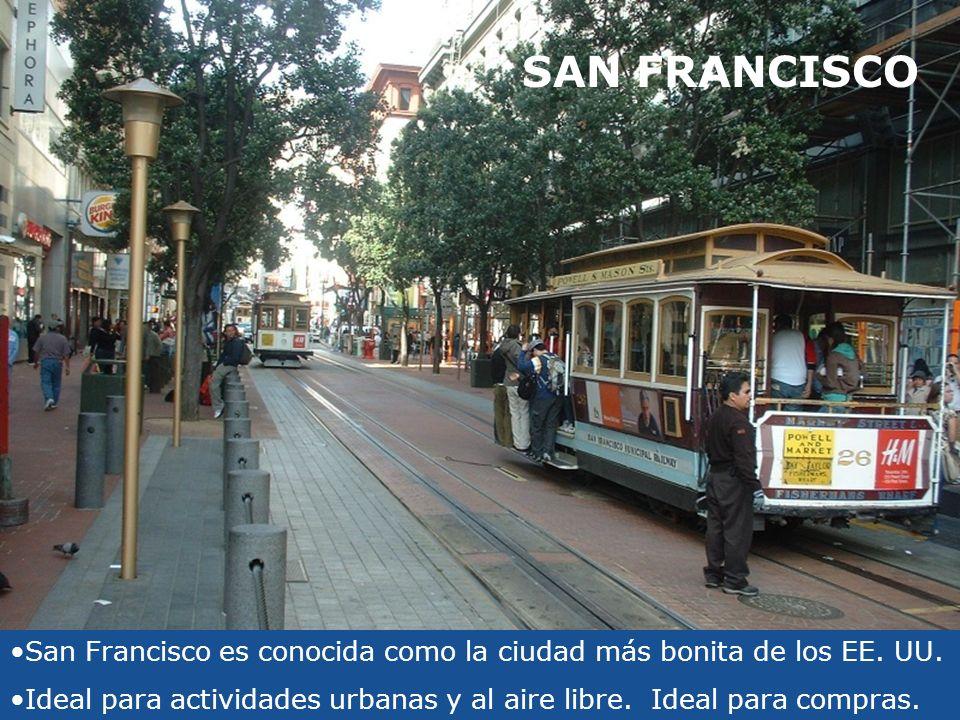 SAN FRANCISCO San Francisco es conocida como la ciudad más bonita de los EE. UU.