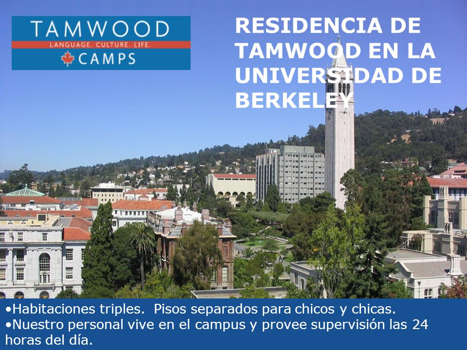 RESIDENCIA DE TAMWOOD EN LA UNIVERSIDAD DE BERKELEY