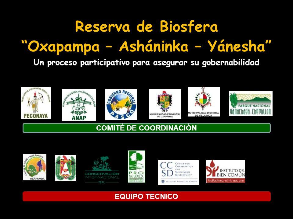 Reserva de Biosfera Oxapampa – Asháninka – Yánesha