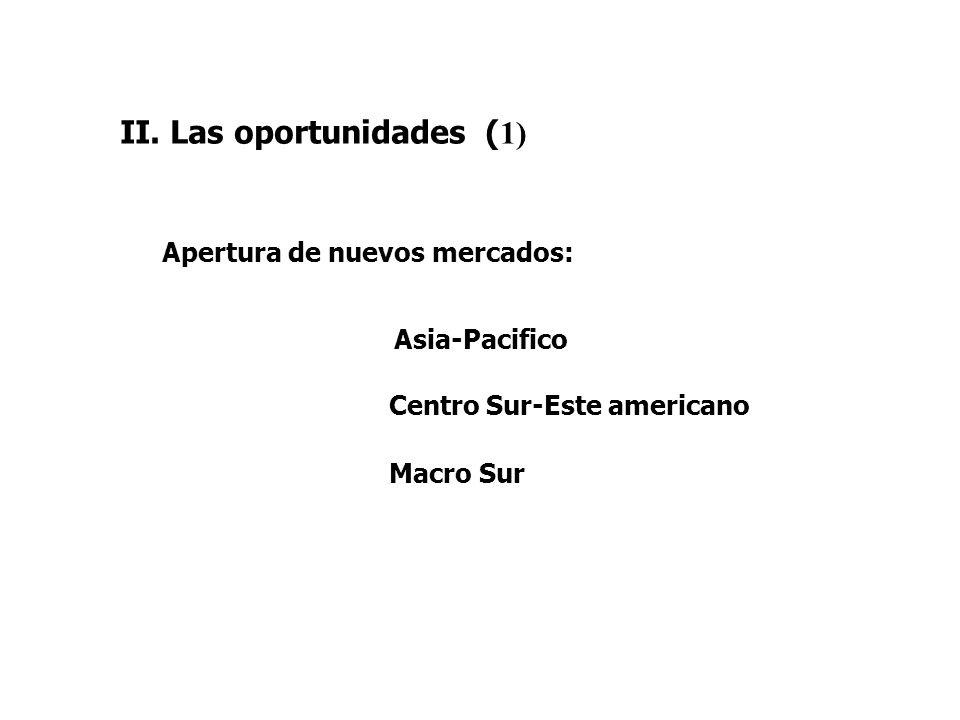 II. Las oportunidades (1)