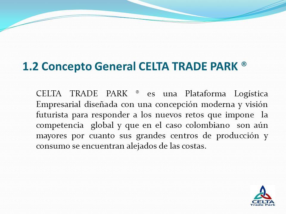 1.2 Concepto General CELTA TRADE PARK ®