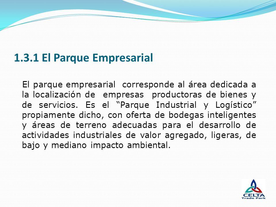 1.3.1 El Parque Empresarial