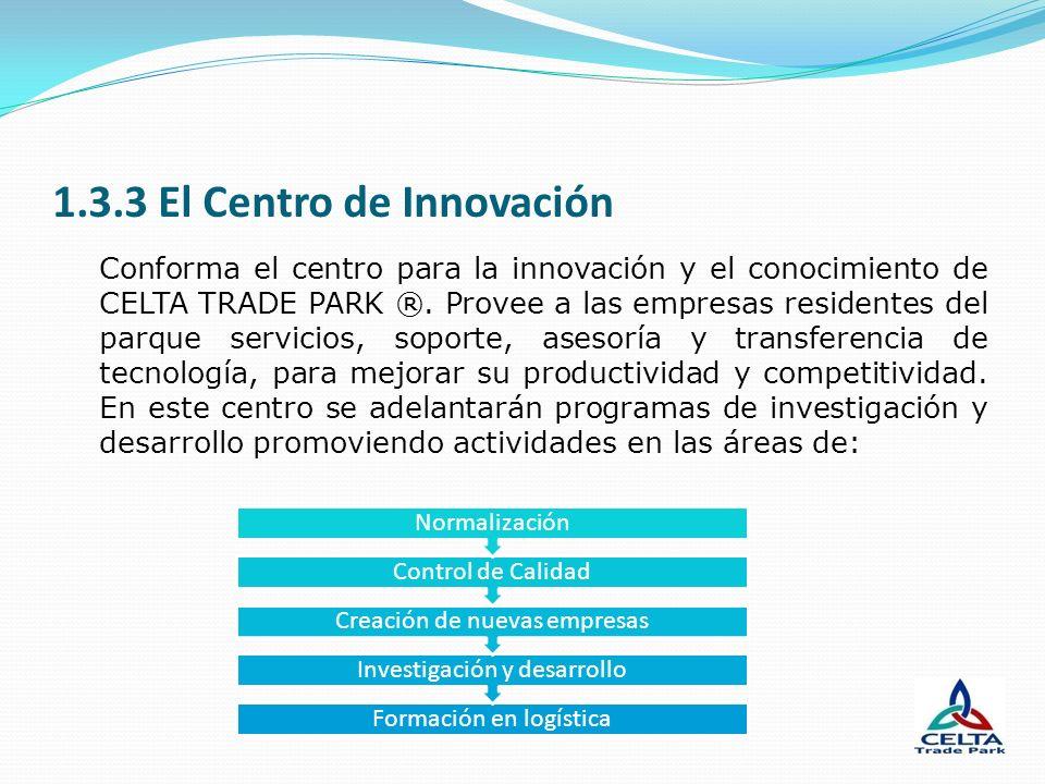 1.3.3 El Centro de Innovación