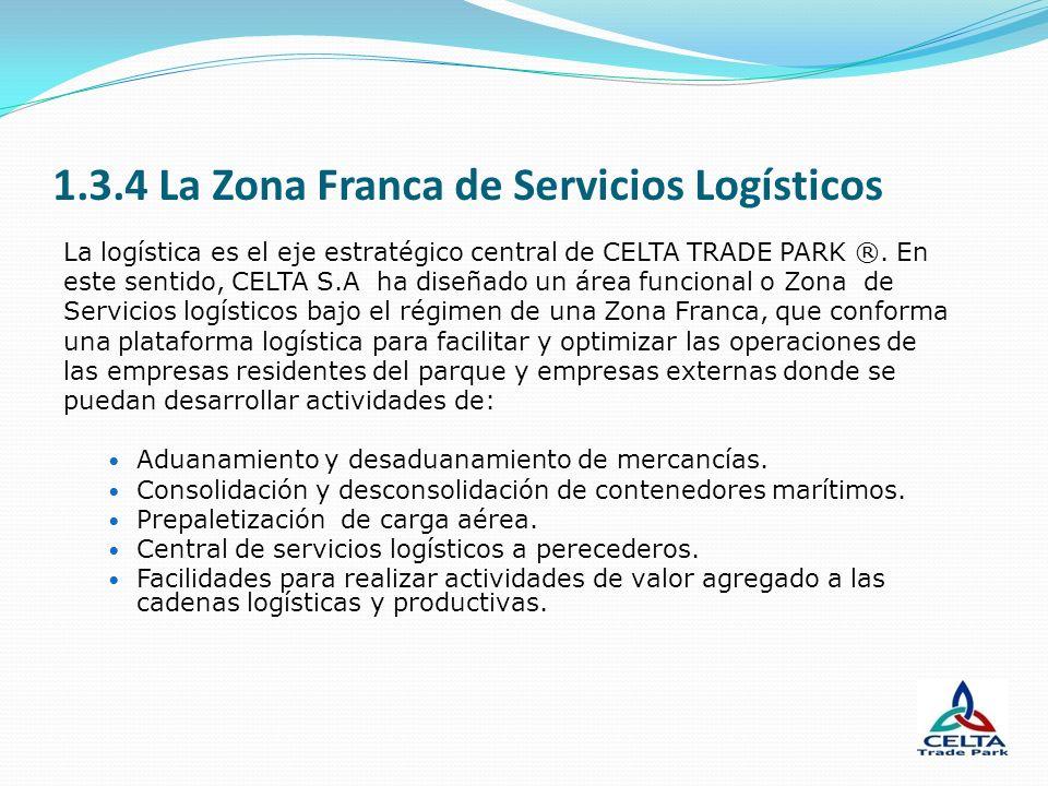 1.3.4 La Zona Franca de Servicios Logísticos