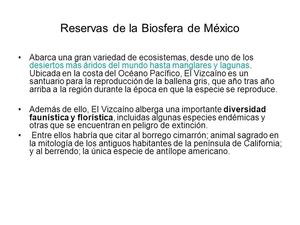 Reservas de la Biosfera de México