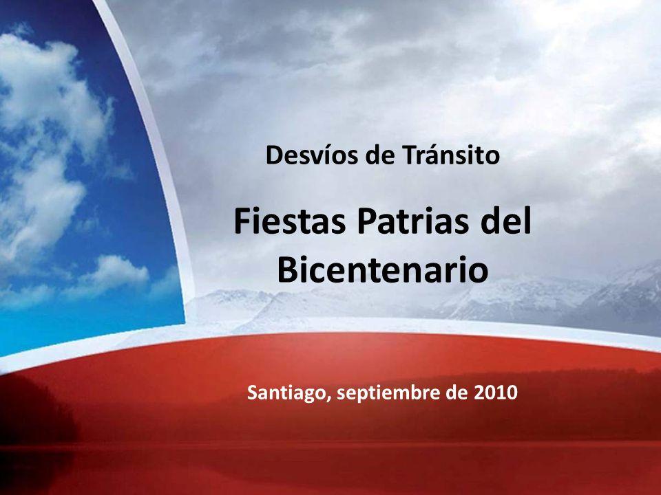 Fiestas Patrias del Bicentenario Santiago, septiembre de 2010