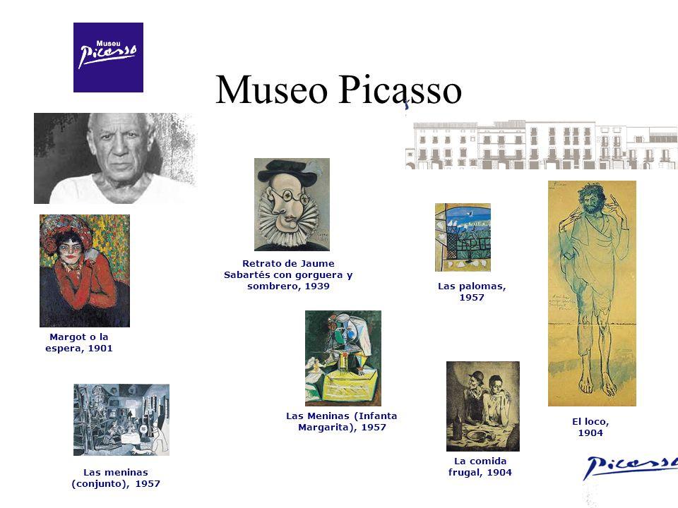 Museo Picasso Retrato de Jaume Sabartés con gorguera y sombrero, 1939
