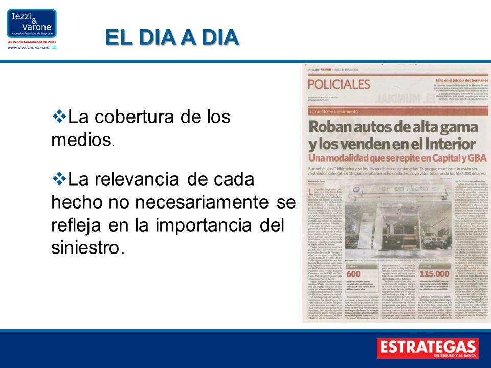 EL DIA A DIA La cobertura de los medios.