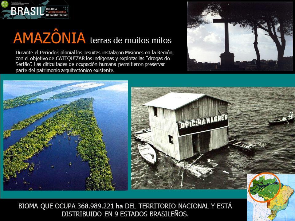 AMAZÔNIA terras de muitos mitos
