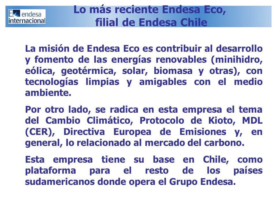 Lo más reciente Endesa Eco,