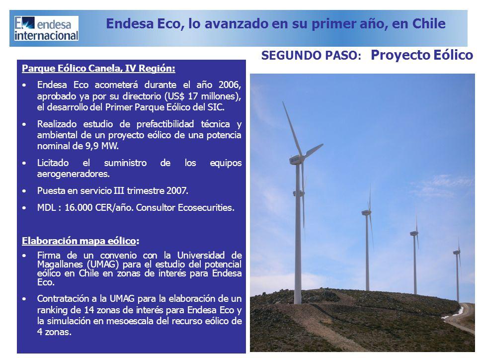 Endesa Eco, lo avanzado en su primer año, en Chile