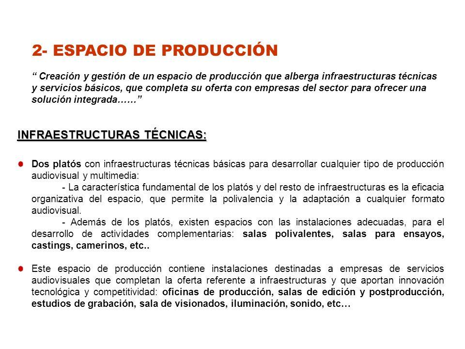 2- ESPACIO DE PRODUCCIÓN