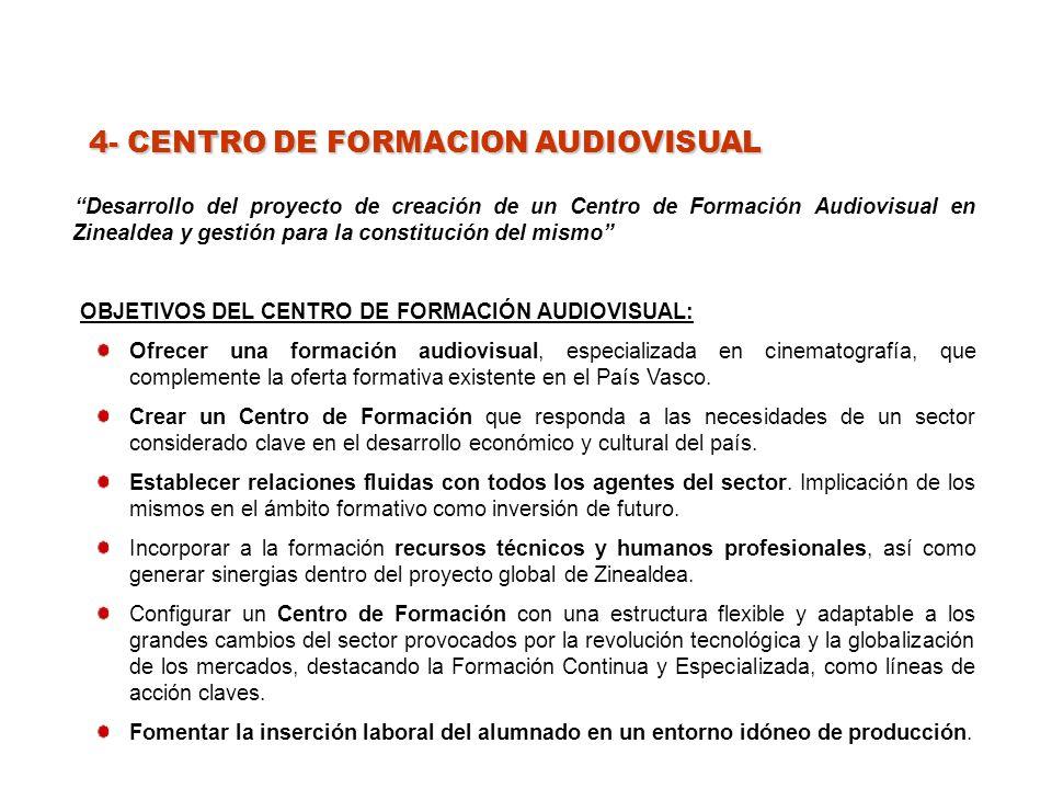 4- CENTRO DE FORMACION AUDIOVISUAL
