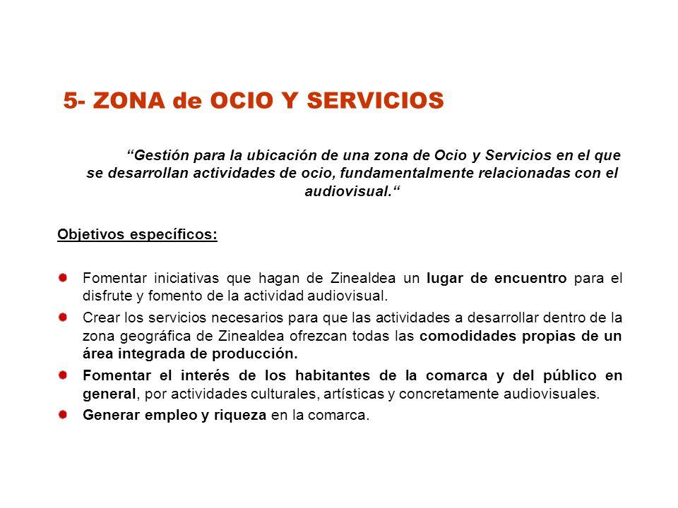 5- ZONA de OCIO Y SERVICIOS