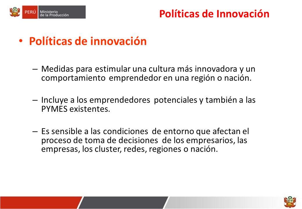 Políticas de Innovación