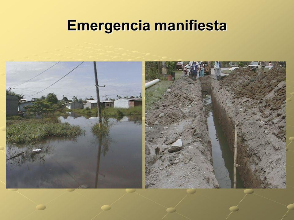 Emergencia manifiesta