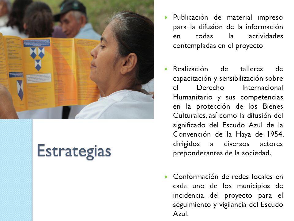 Publicación de material impreso para la difusión de la información en todas la actividades contempladas en el proyecto
