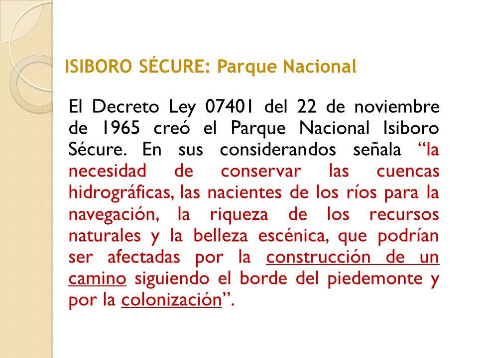 ISIBORO SÉCURE: Parque Nacional