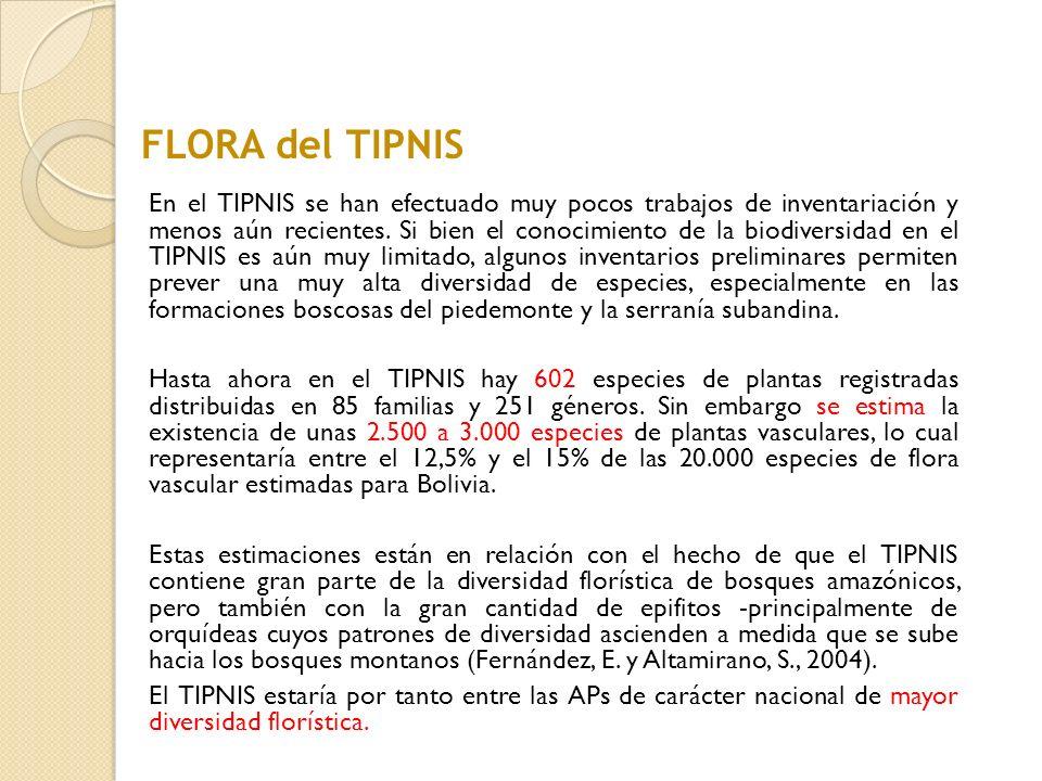 FLORA del TIPNIS