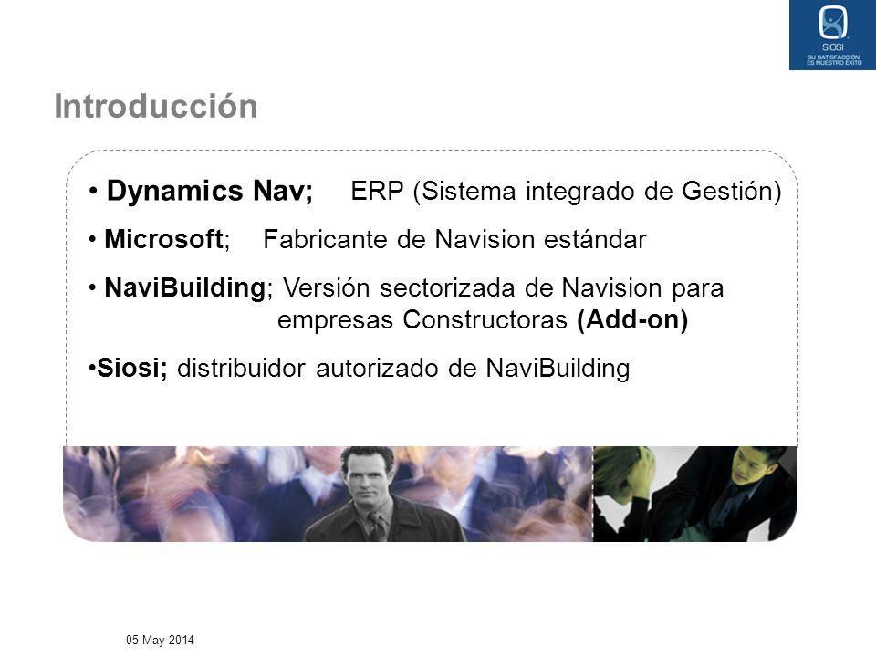 Introducción Dynamics Nav; ERP (Sistema integrado de Gestión)