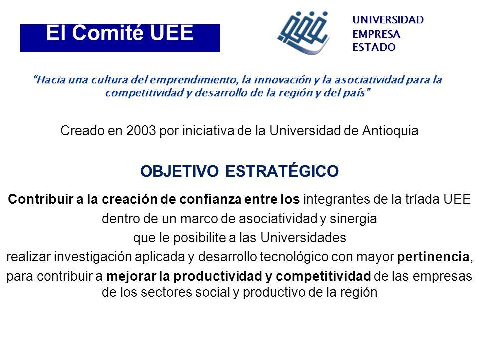 El Comité UEE Objetivo estratégico