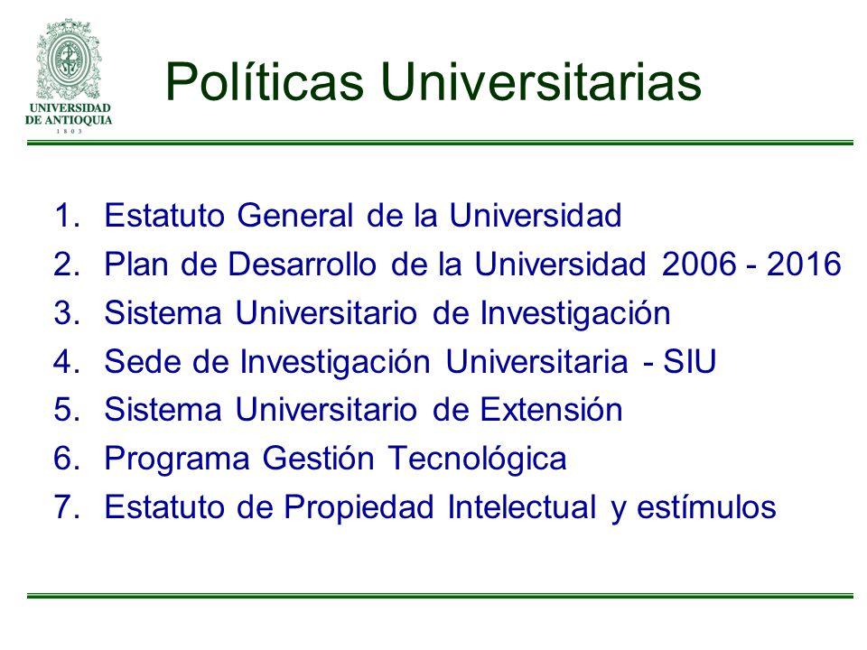 Políticas Universitarias