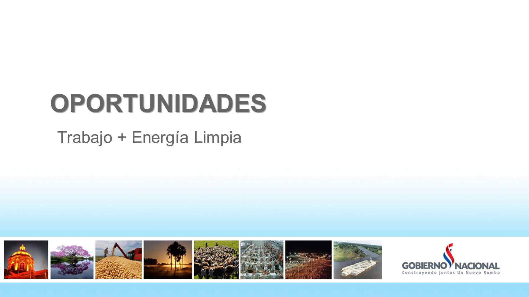 OPORTUNIDADES Trabajo + Energía Limpia 14
