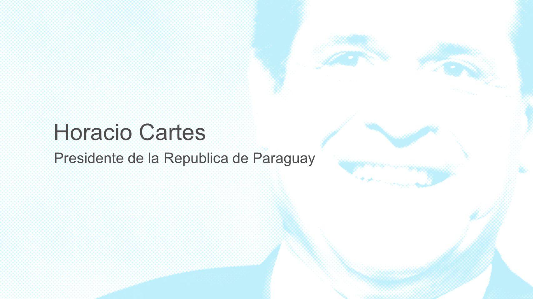 Horacio Cartes Presidente de la Republica de Paraguay 3 3