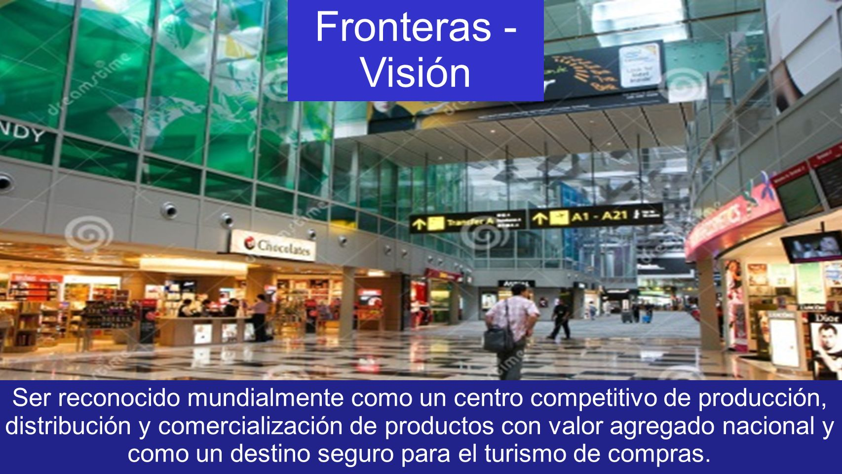 Fronteras - Visión