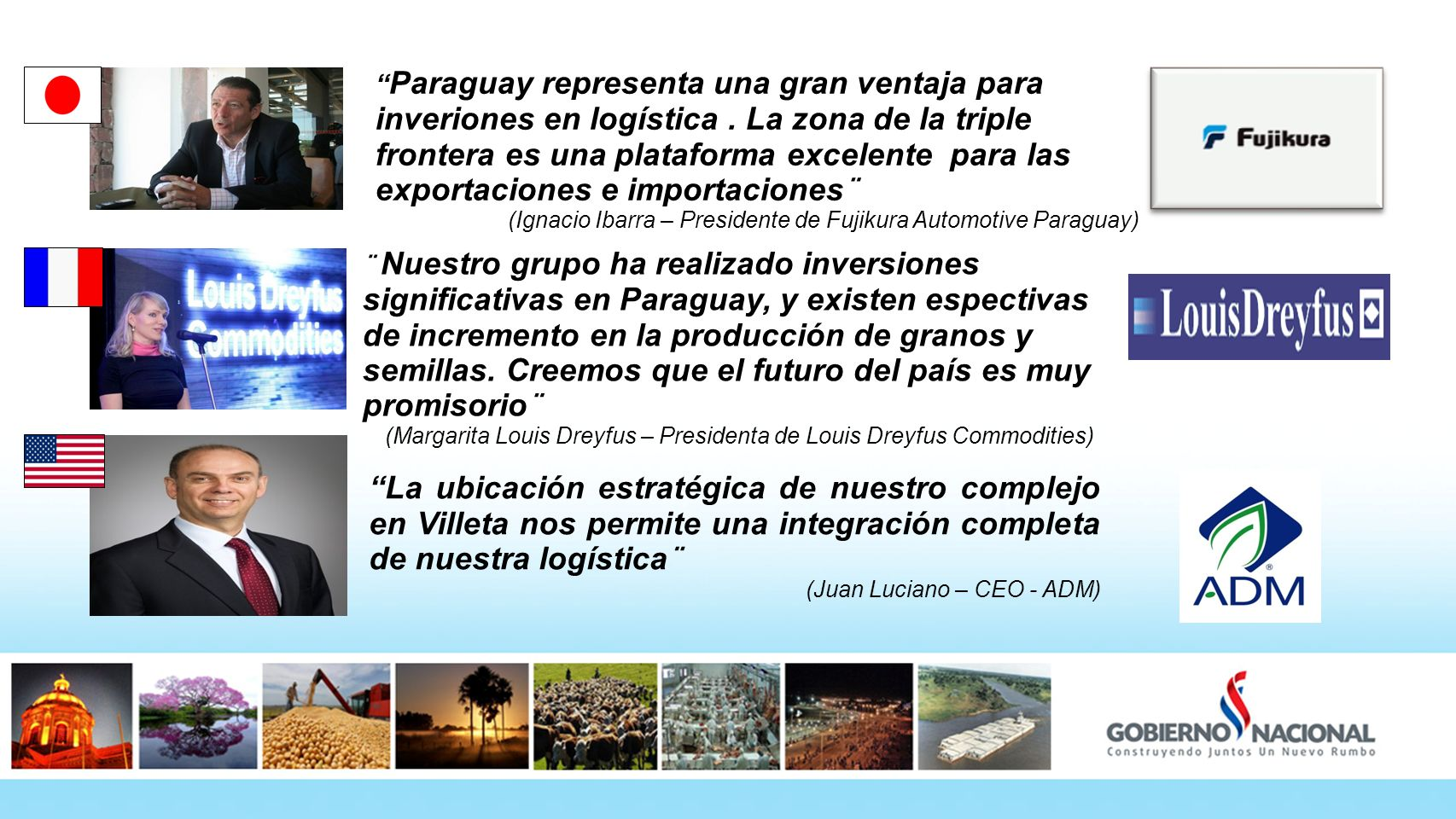 Paraguay representa una gran ventaja para inveriones en logística