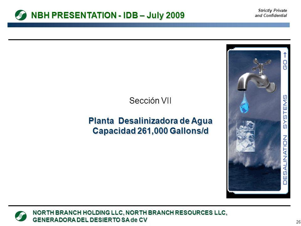 Planta Desalinizadora de Agua