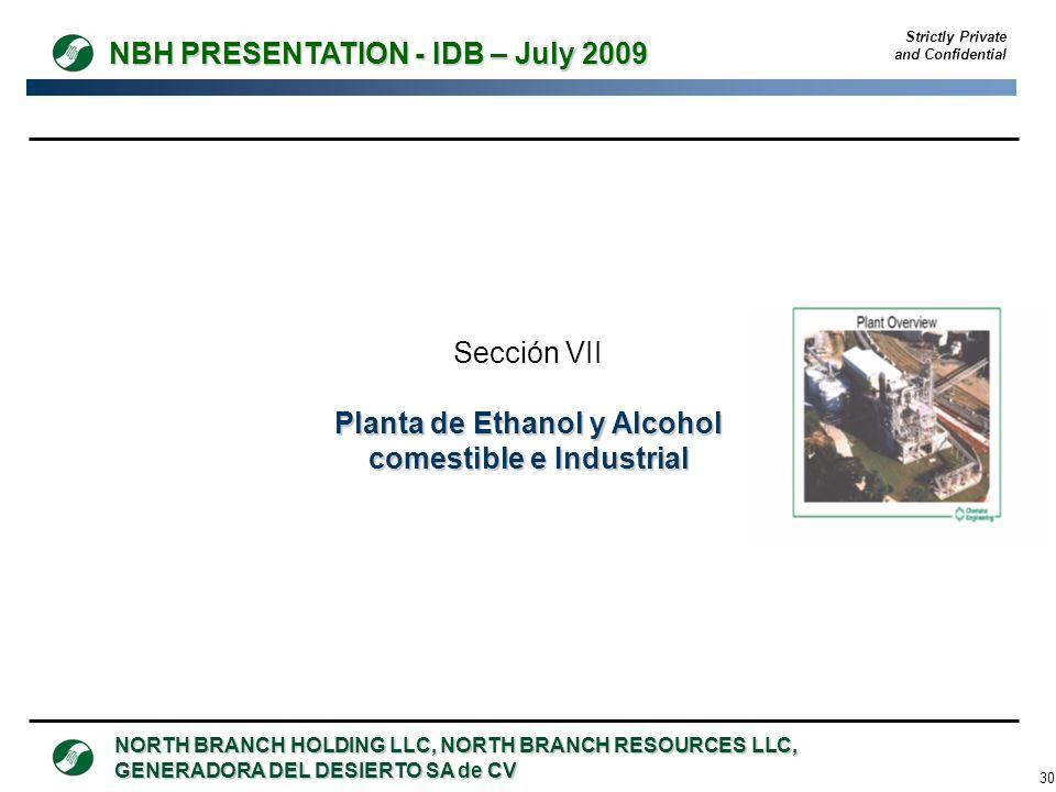 Planta de Ethanol y Alcohol comestible e Industrial