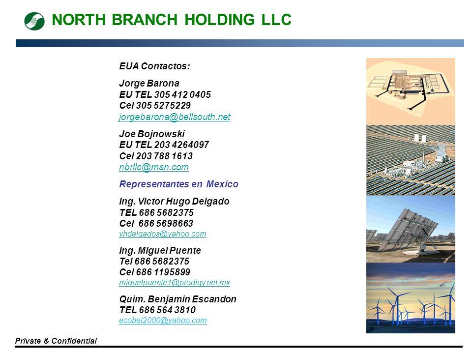 NORTH BRANCH HOLDING LLC