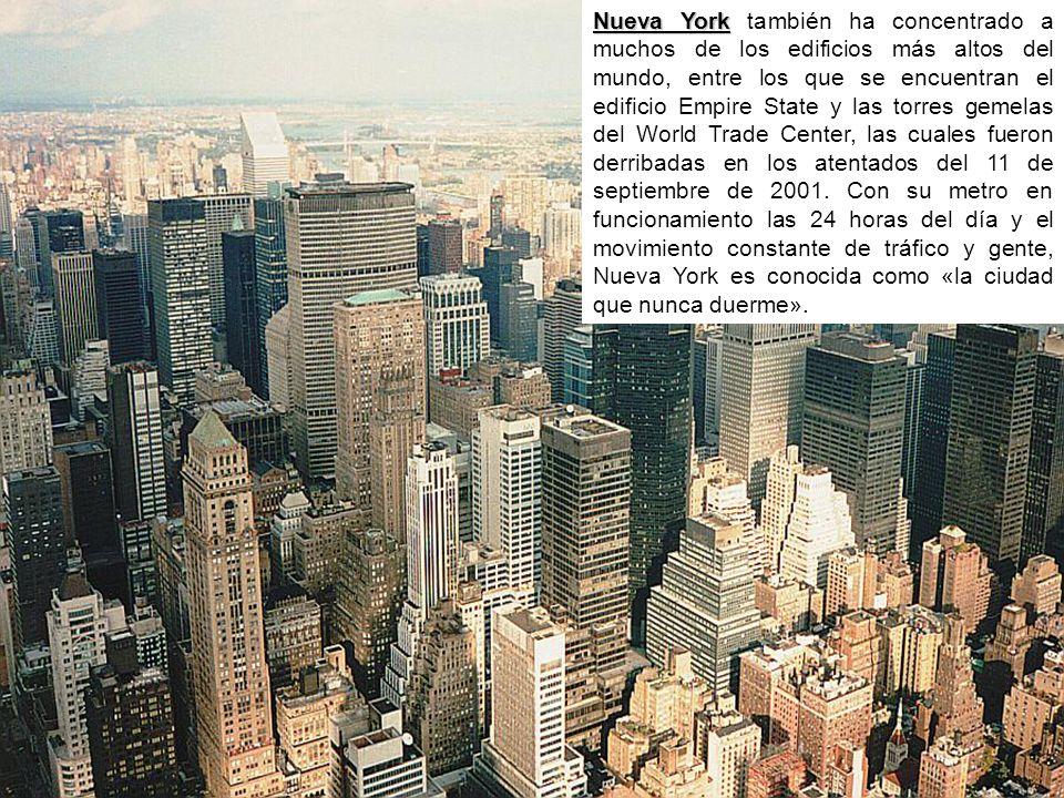 nueva york tambin ha concentrado a muchos de los edificios ms altos del mundo entre