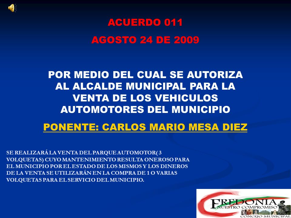 PONENTE: CARLOS MARIO MESA DIEZ
