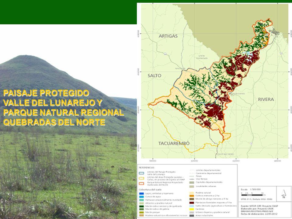 PAISAJE PROTEGIDO VALLE DEL LUNAREJO Y PARQUE NATURAL REGIONAL QUEBRADAS DEL NORTE
