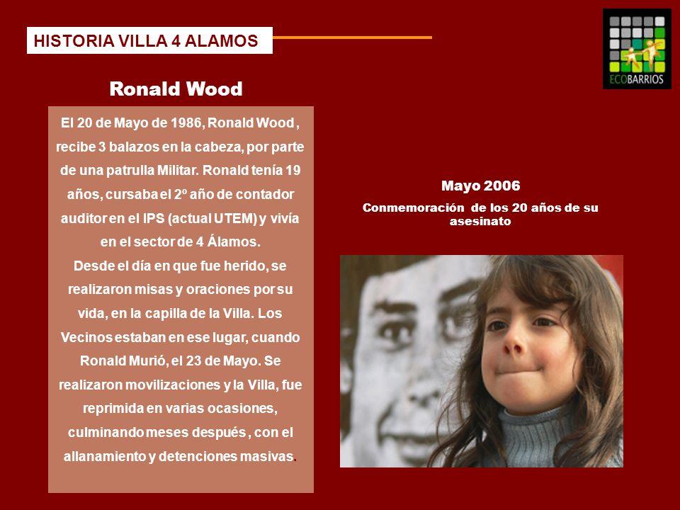 Ronald Wood HISTORIA VILLA 4 ALAMOS