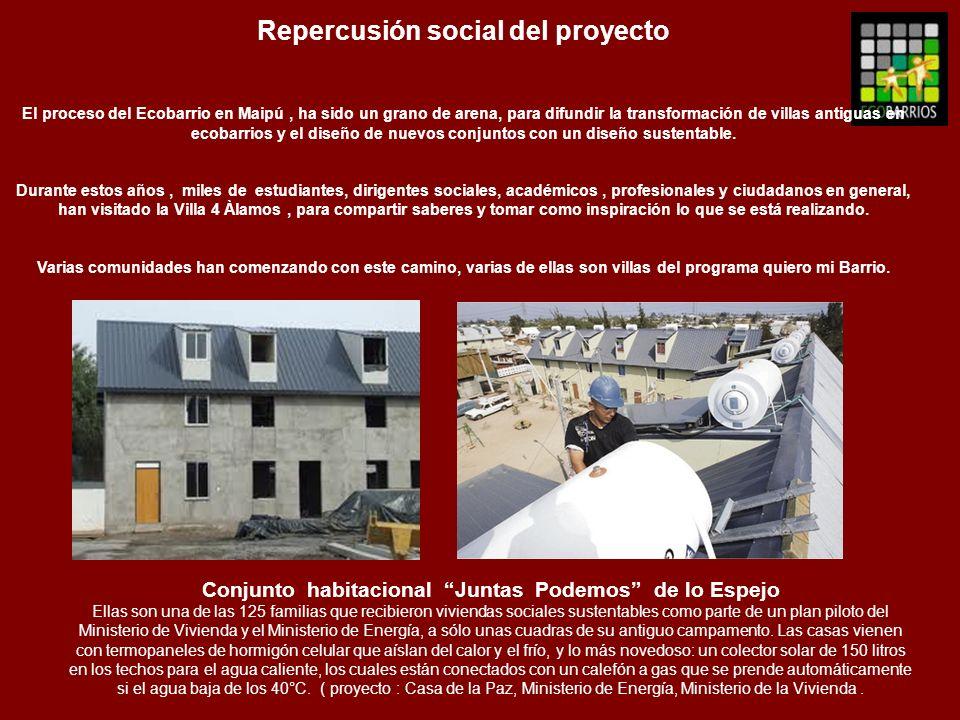Repercusión social del proyecto