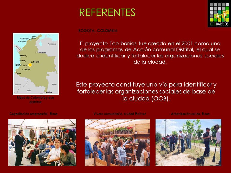 REFERENTES BOGOTA, COLOMBIA.