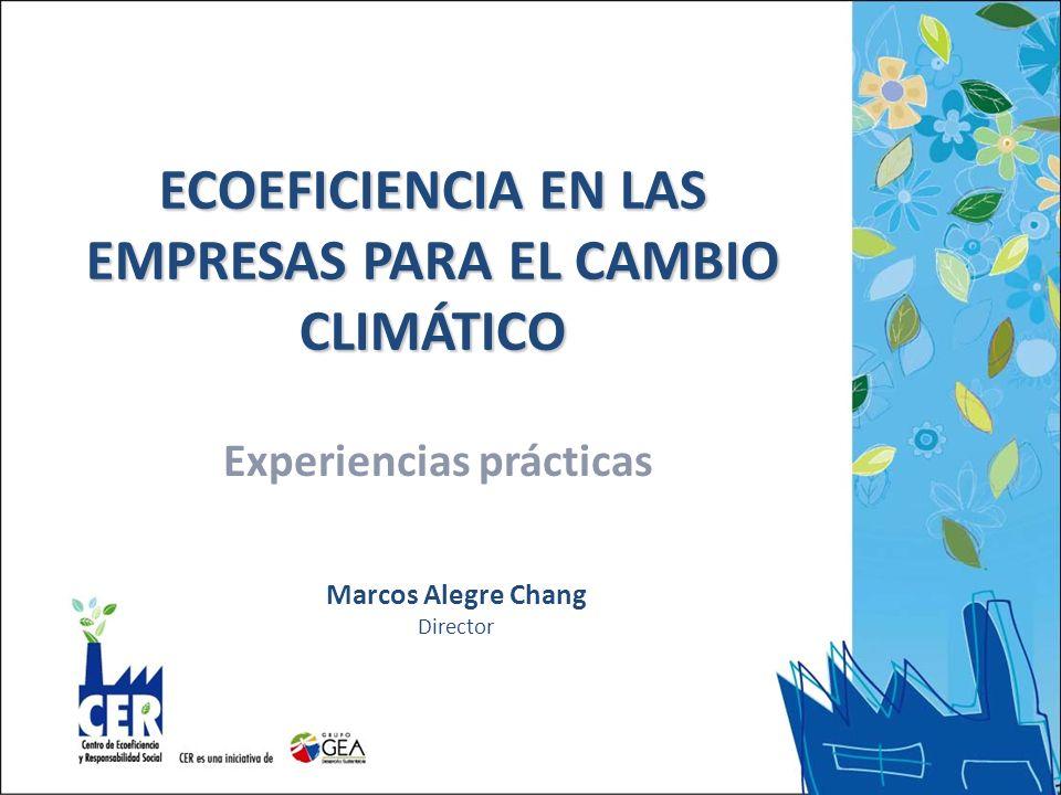 ECOEFICIENCIA EN LAS EMPRESAS PARA EL CAMBIO CLIMÁTICO