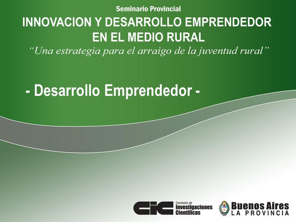 - Desarrollo Emprendedor -