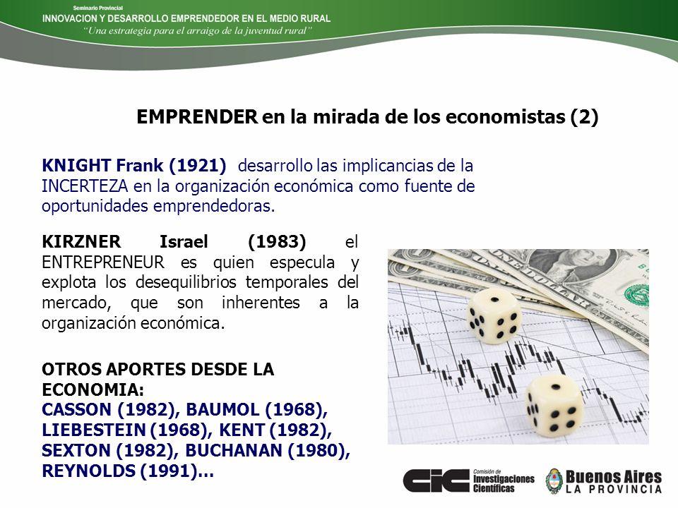 EMPRENDER en la mirada de los economistas (2)